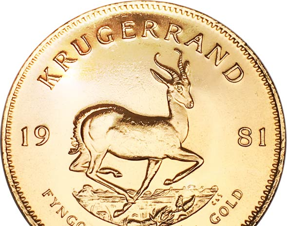 Krügerrand Münze 1 Unze