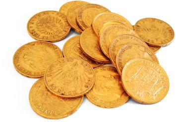 Goldmünzen aus dem Deutschen Reich